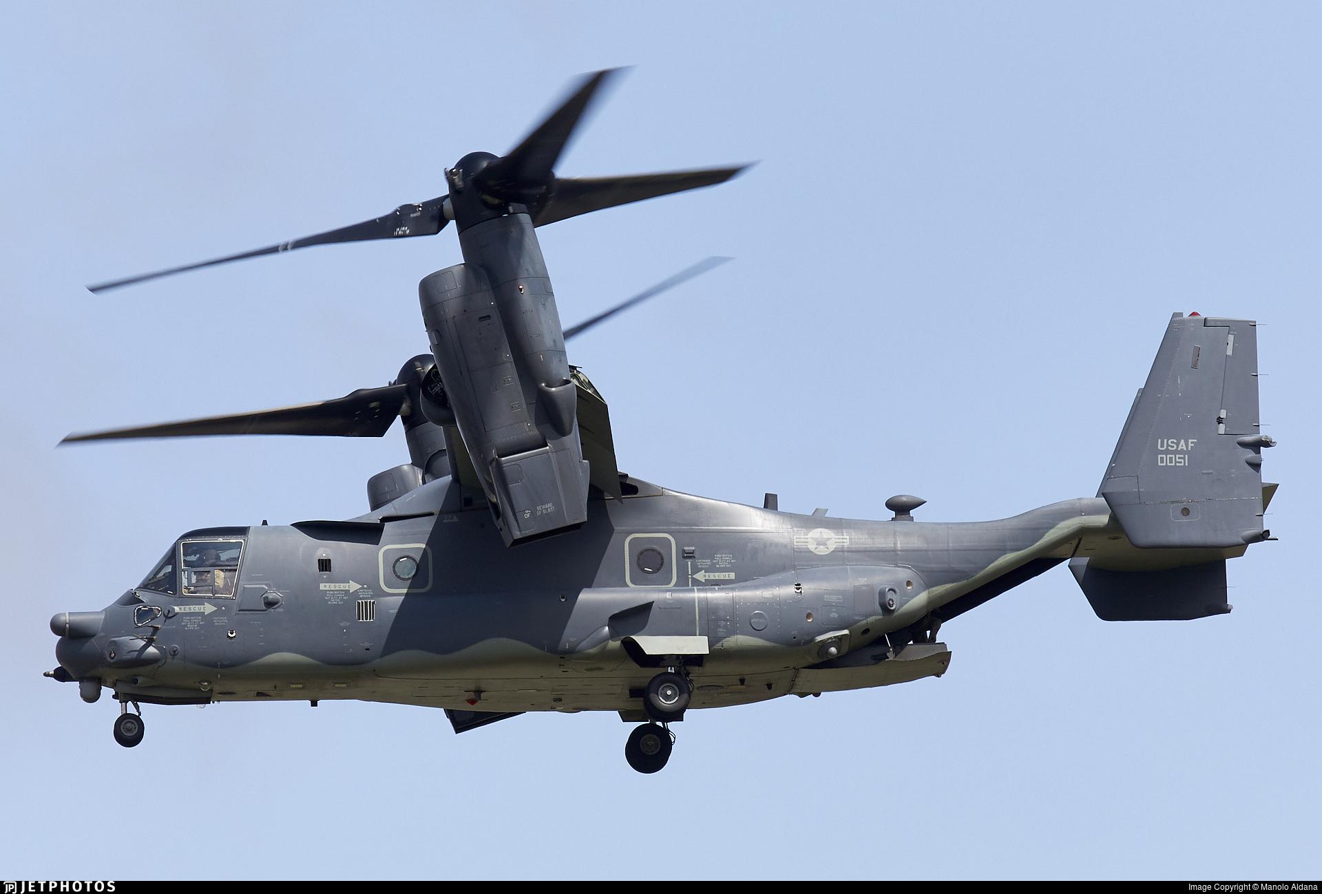 08 0051 | Boeing CV 22B Osprey | United States US Air