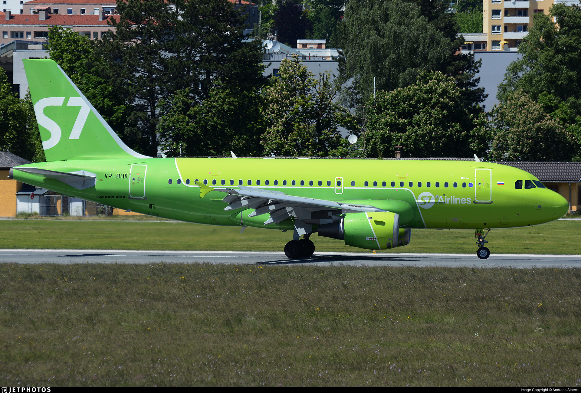 VP-BHK - Airbus A319-114 - S7 Airlines