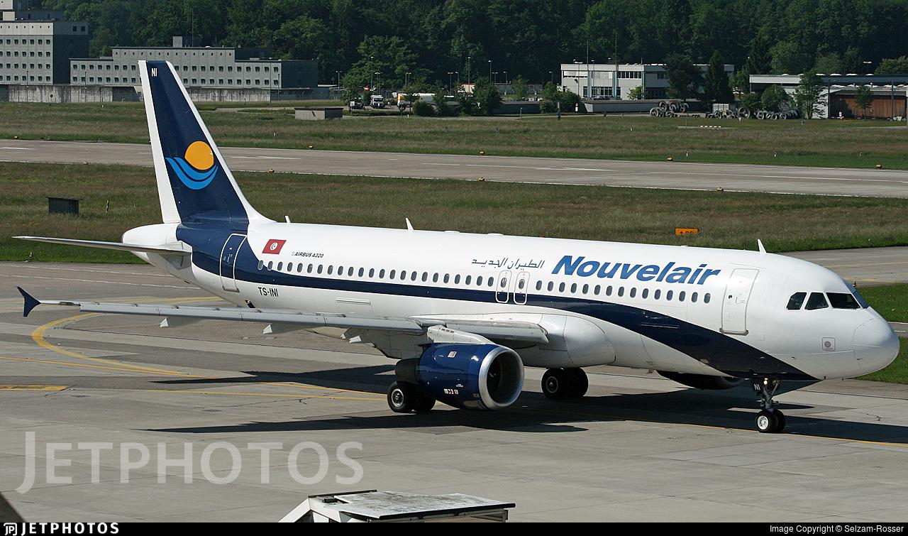 TS-INI - Airbus A320-211 - Nouvelair
