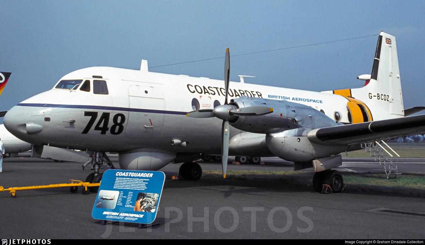 G-BCDZ - Hawker Siddeley HS-748 Series 2A - British Aerospace