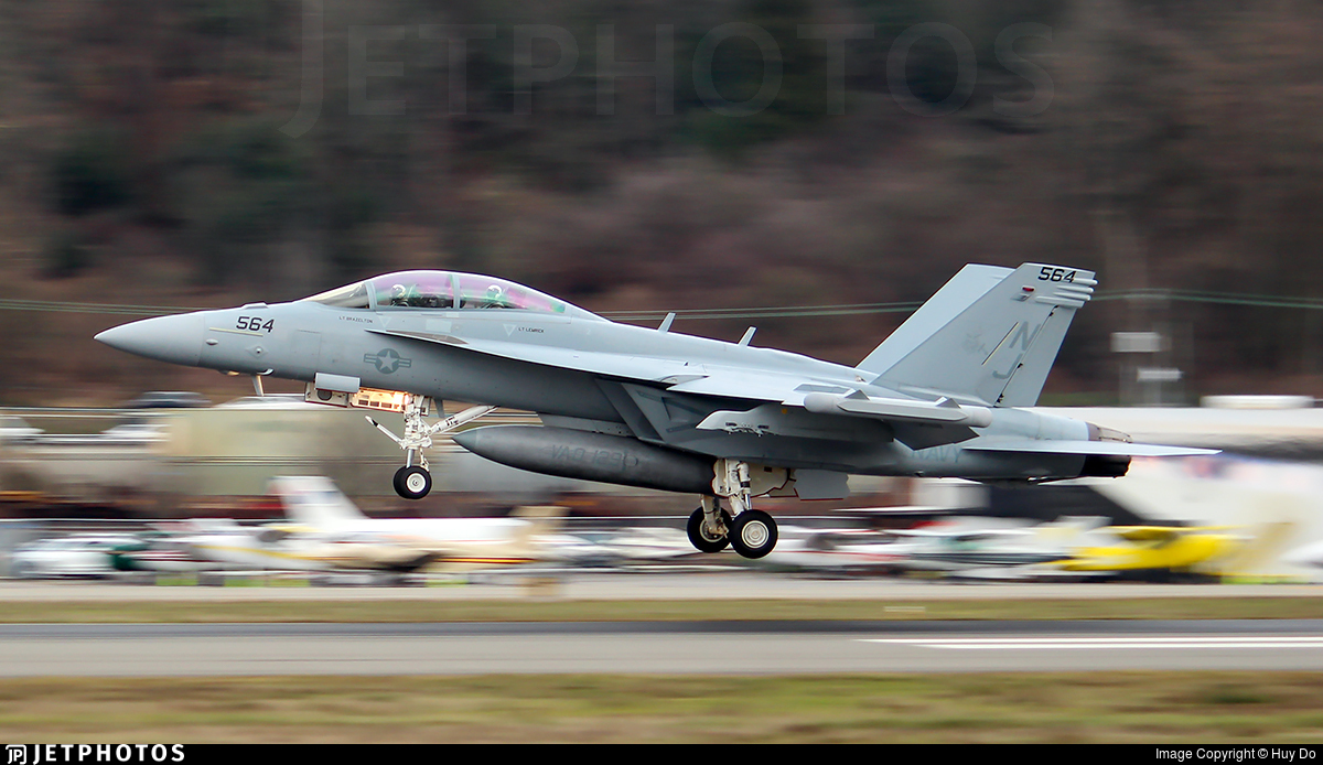 166933 - Boeing EA-18G Growler  - United States - US Navy (USN)