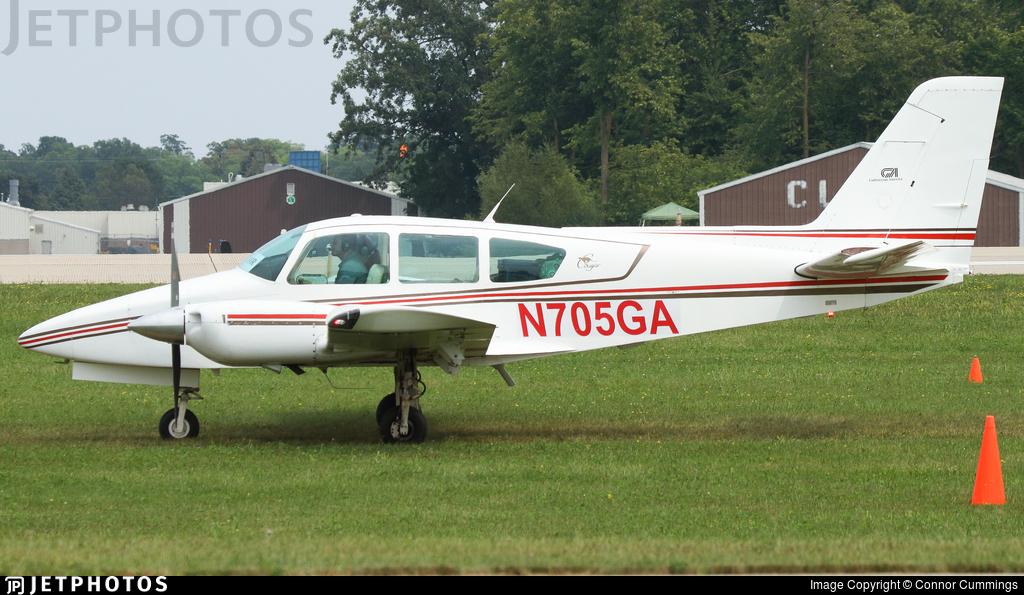 N705GA - Grumman American GA-7 Cougar - Private