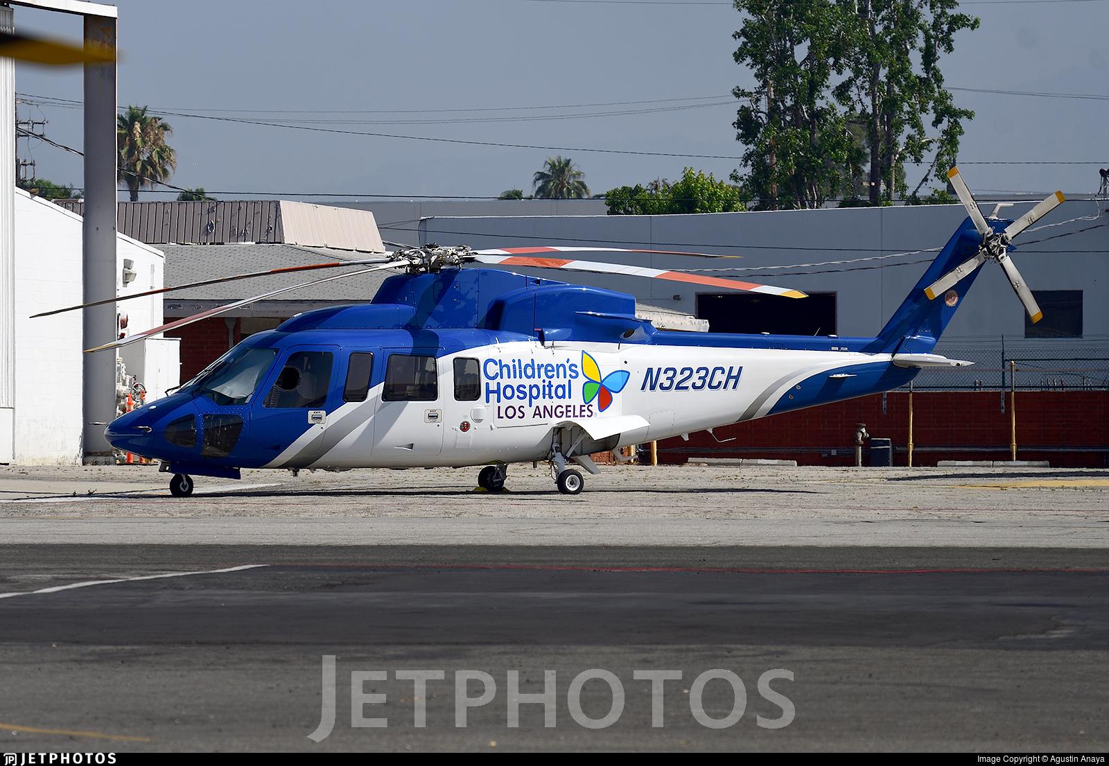 N323CH - Sikorsky S-76C - Private