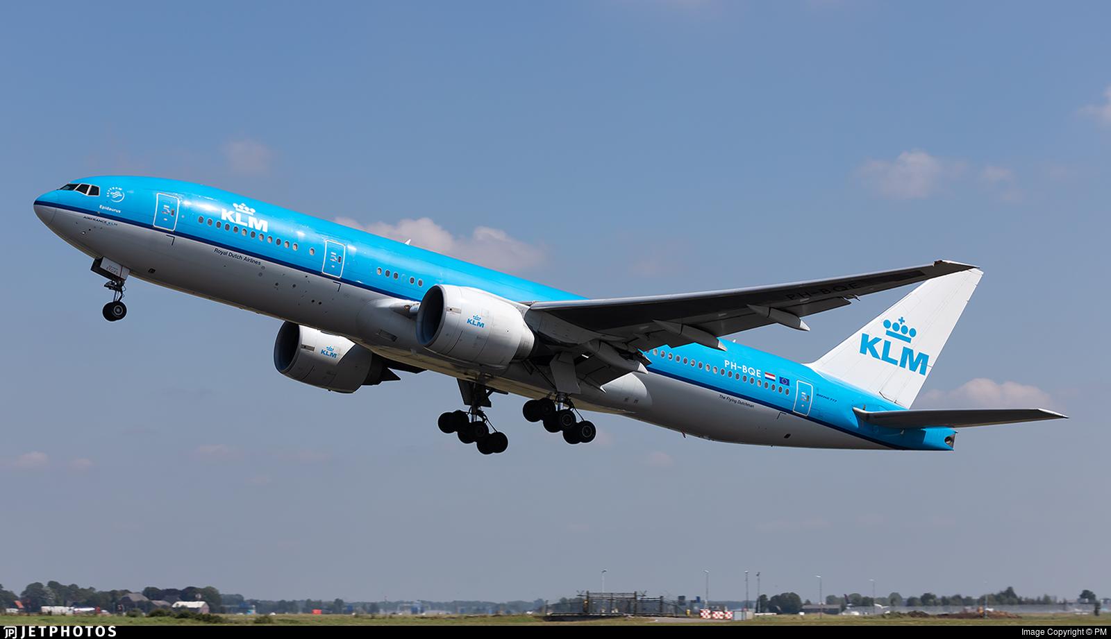 PH-BQE - Boeing 777-206(ER) - KLM Royal Dutch Airlines