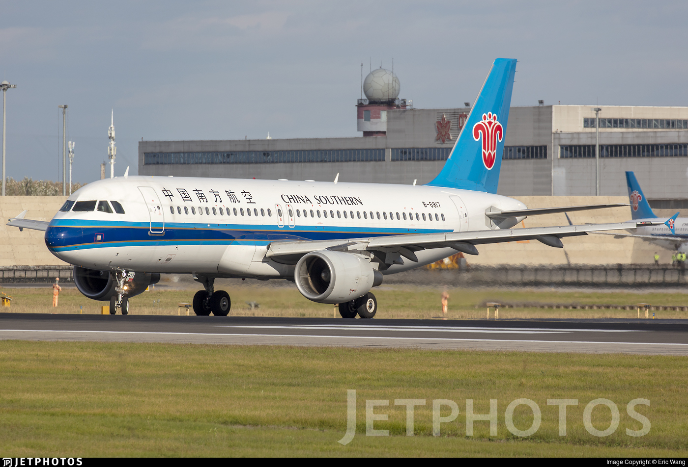 B-6817 - Airbus A320-214 - China Southern Airlines