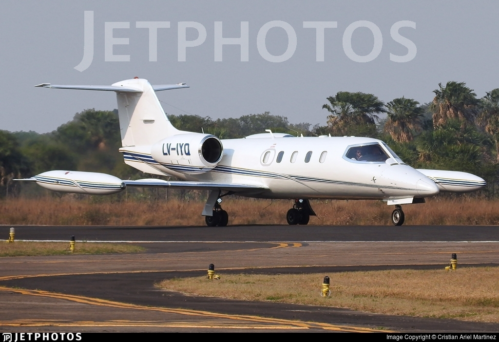 LV-IYQ - Bombardier Learjet 35A - Baires Fly