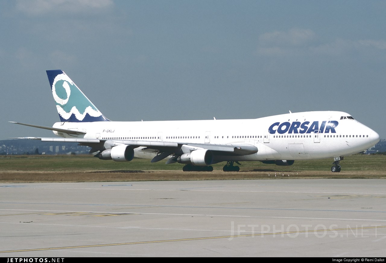 F-GKLJ | Boeing 747-121 | Corsair | Remi Dallot | JetPhotos