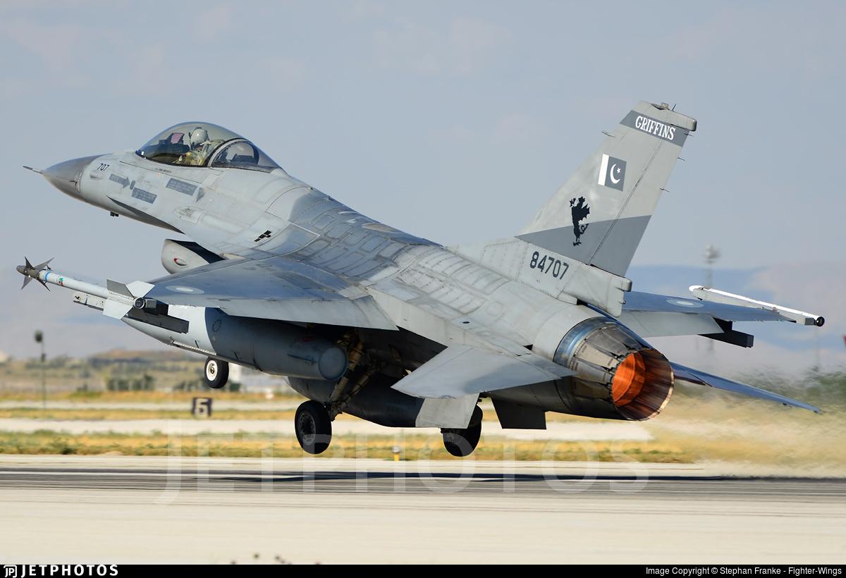 84707 - General Dynamics F-16A Fighting Falcon - Pakistan - Air Force