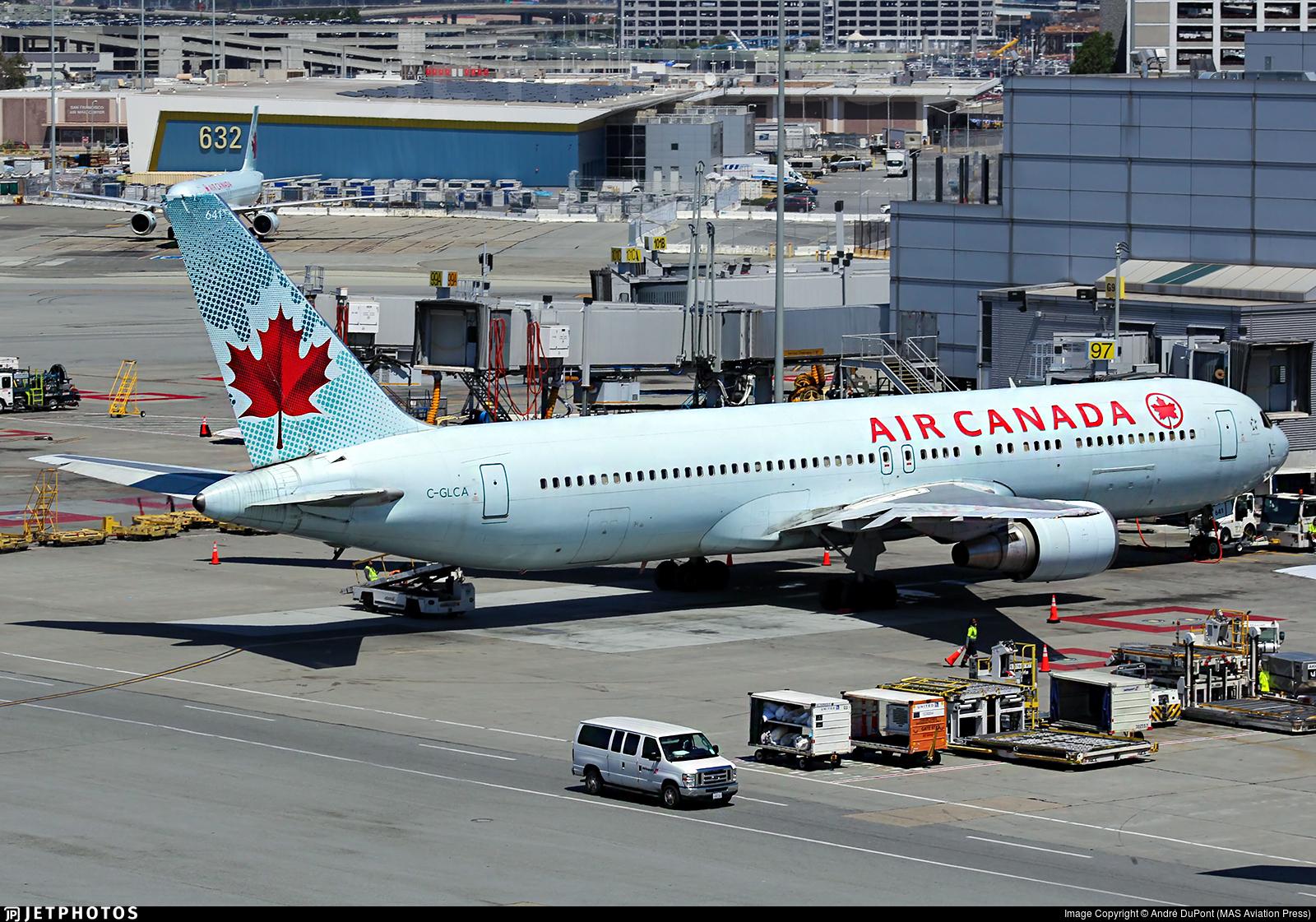 C-GLCA - Boeing 767-375(ER) - Air Canada