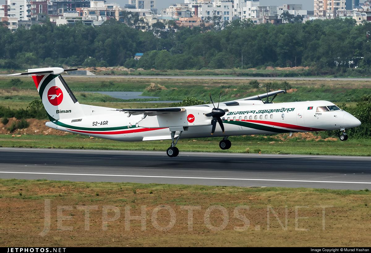 S2-AGR - Bombardier Dash 8-Q402 - Biman Bangladesh Airlines
