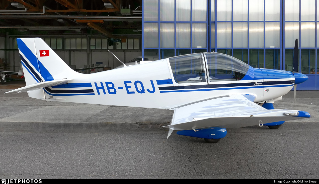 HB-EQJ - Robin DR400/180 Régent - Motorfluggruppe Pilatus