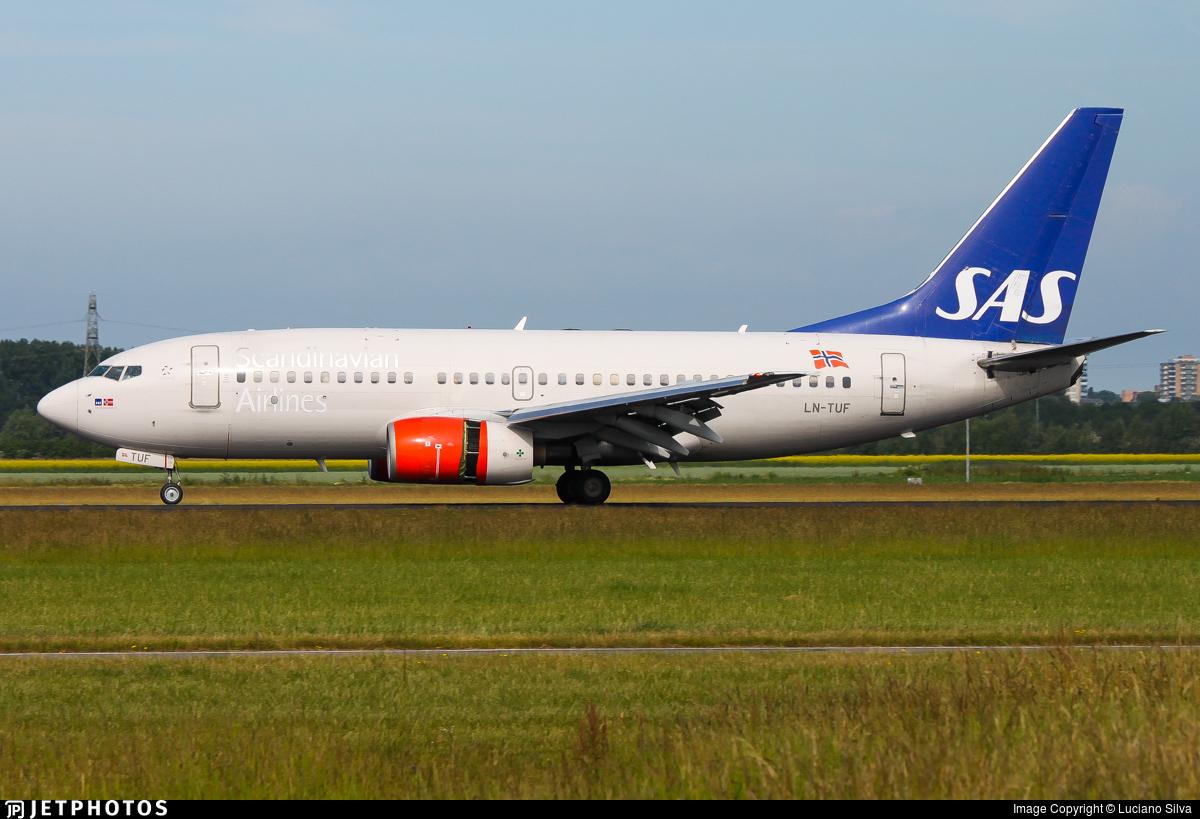 LN-TUF - Boeing 737-705 - SAS Norge
