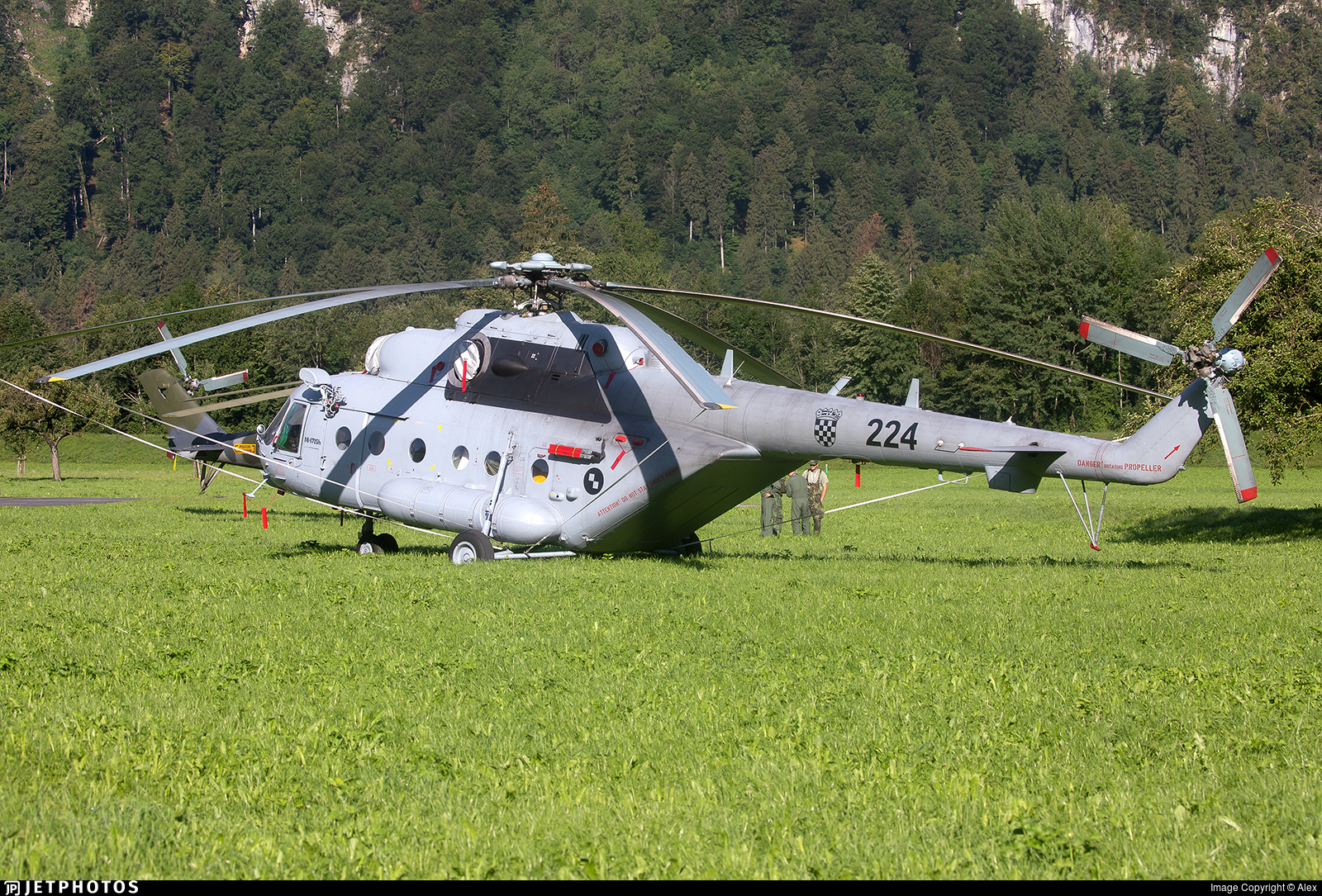 224 - Mil Mi-171Sh-P - Croatia - Air Force