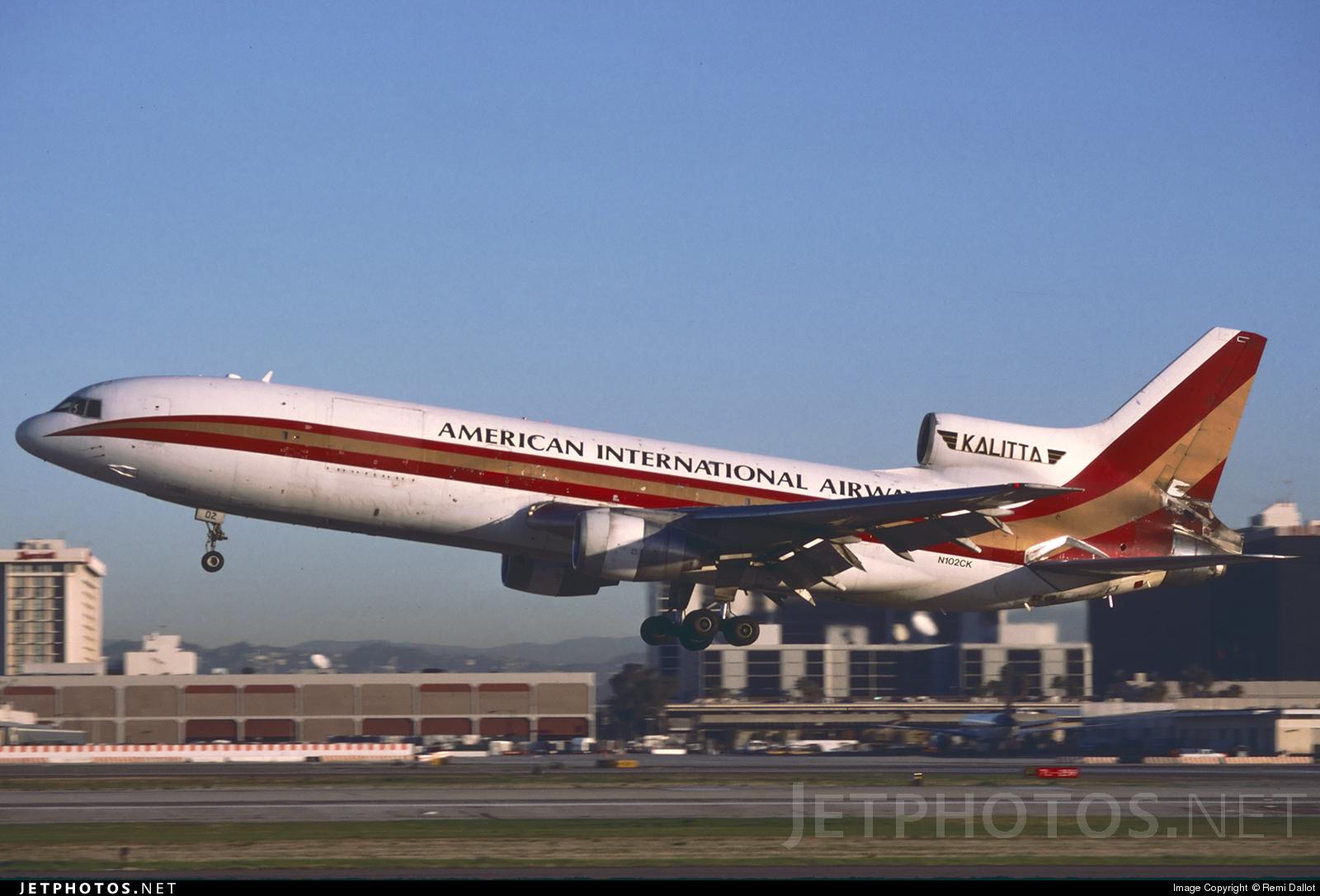 N102CK - Lockheed L-1011-200(F) Tristar - American International Airways (Kalitta)