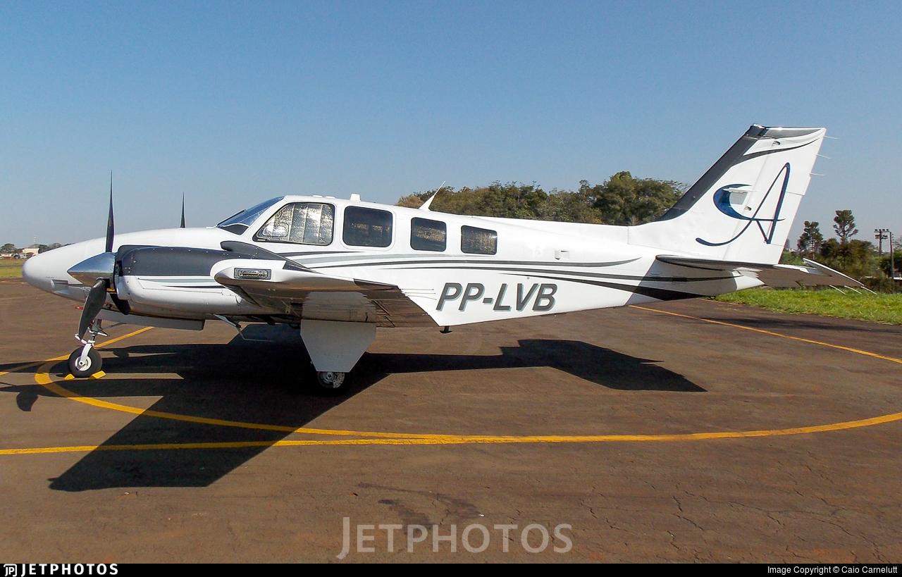 PP-LVB - Beechcraft G58 Baron - Private