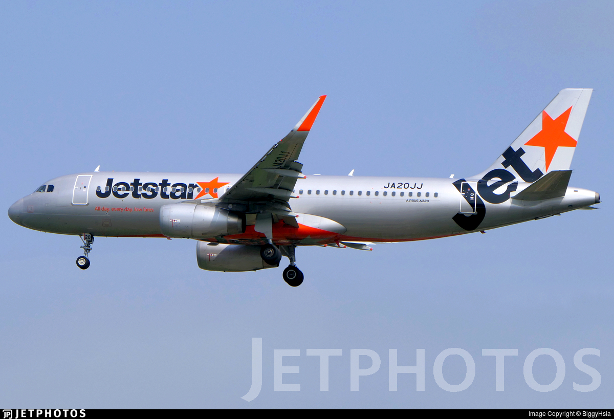 JA20JJ - Airbus A320-232 - Jetstar Japan Airlines