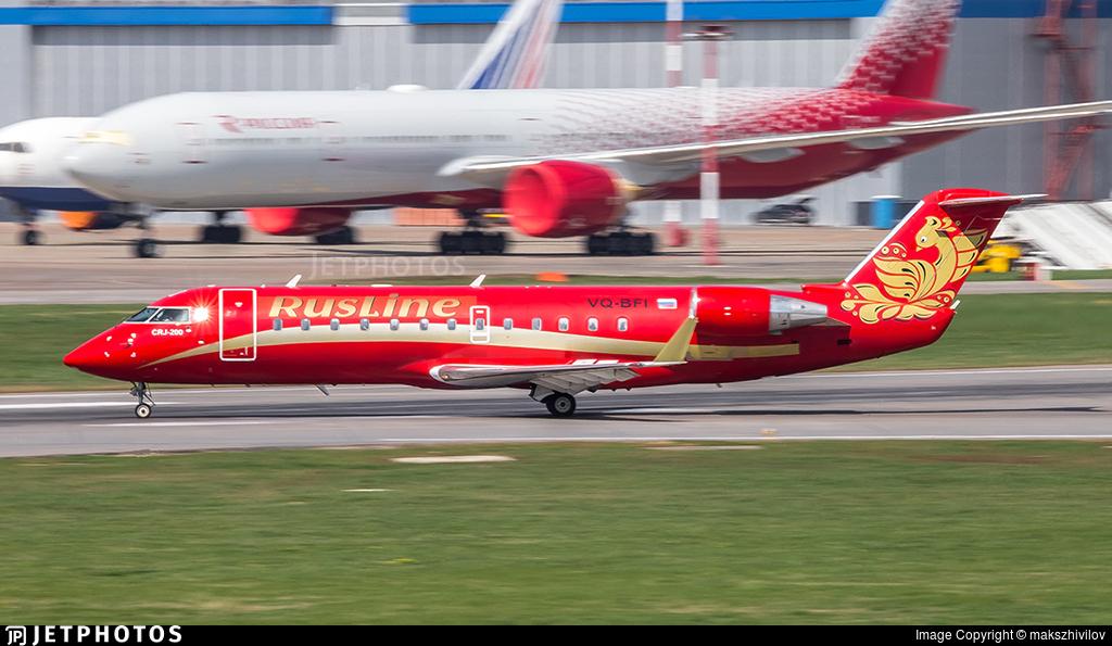 VQ-BFI - Bombardier CRJ-200ER - Rusline