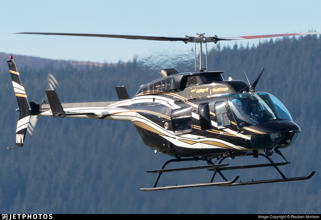 ZK-IWY - Bell 206L-4 Long Ranger IV - Helicopters Otago