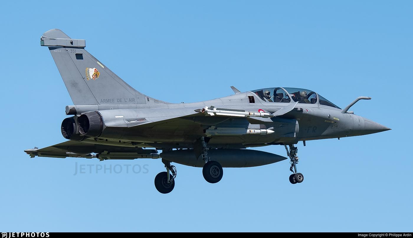 351 - Dassault Rafale B - France - Air Force