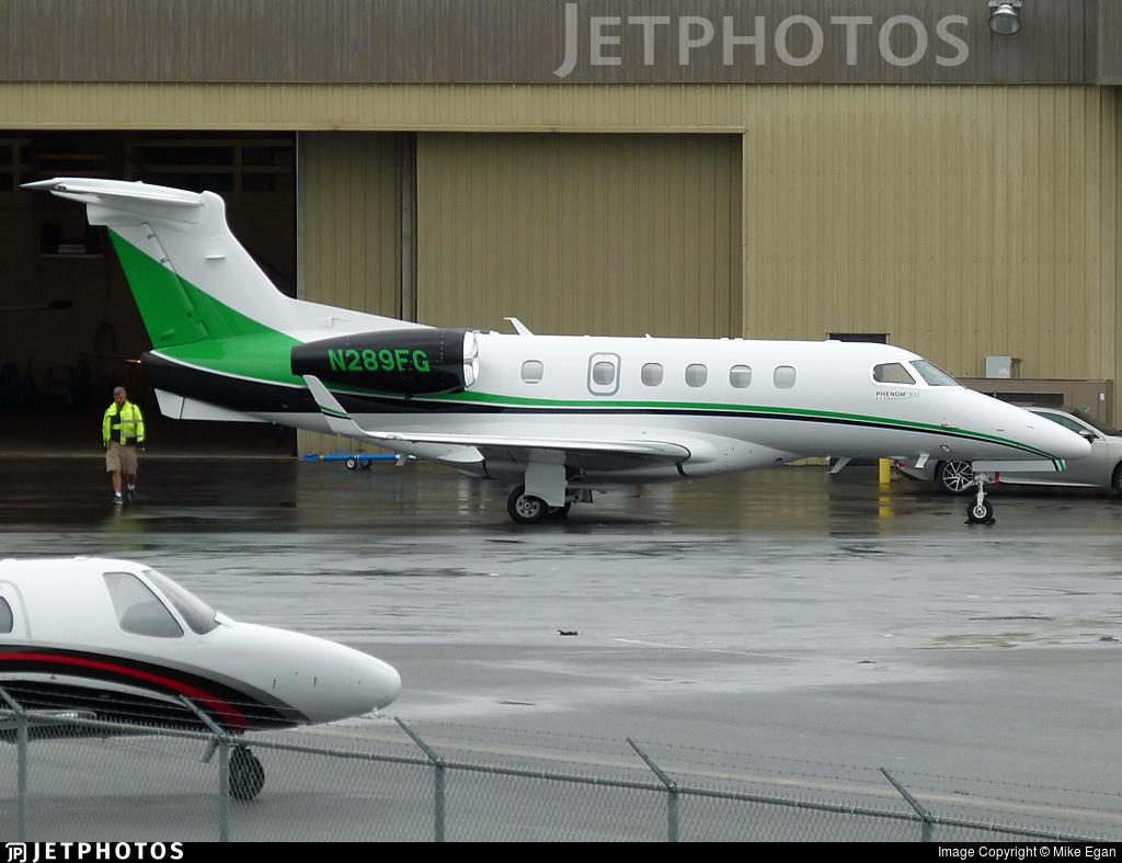N289FG - Embraer 505 Phenom 300 - Private