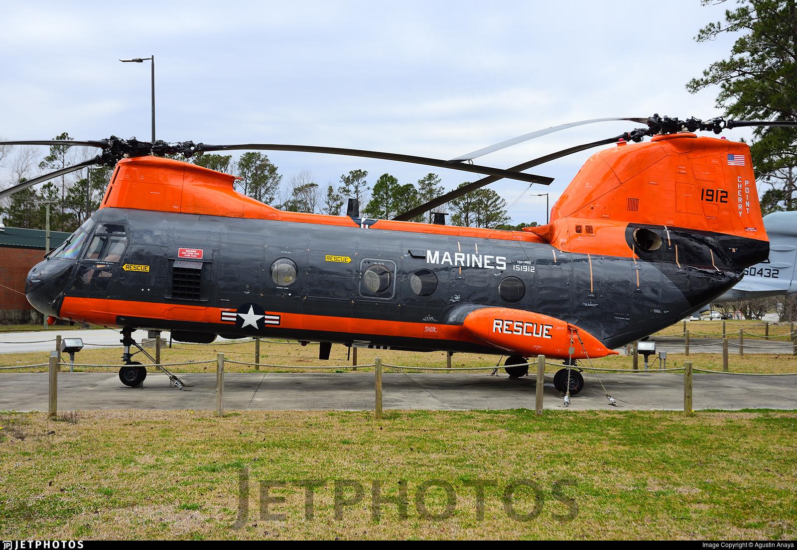151912 - Boeing Vertol HH-46D Sea Knight - United States - US Marine Corps (USMC)