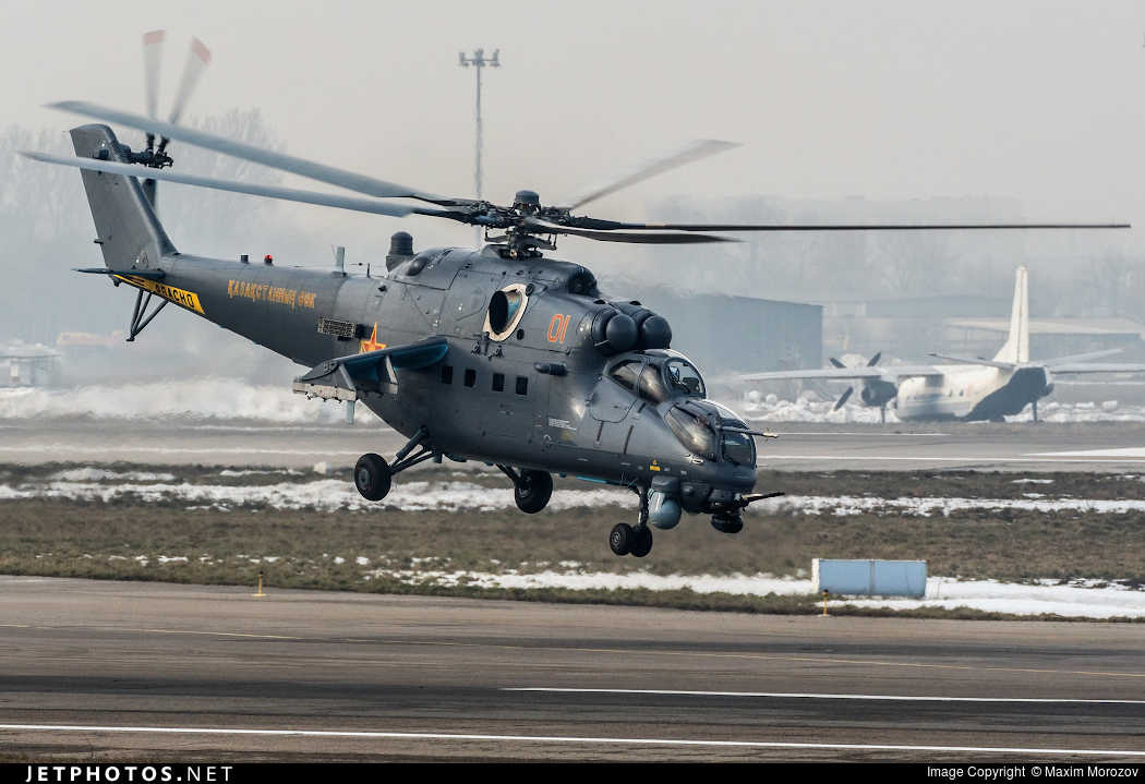 01 - Mil Mi-35M Hind - Kazakhstan - Air Force