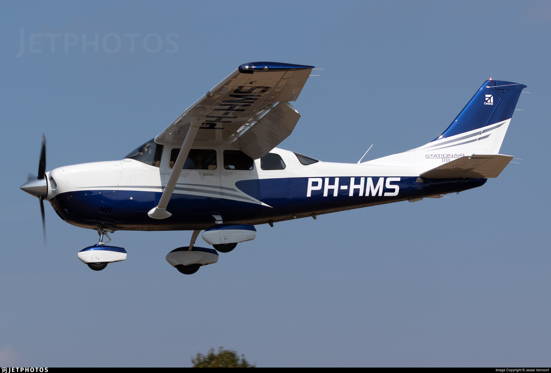 PH-HMS - Cessna T206H Turbo Stationair HD - Private