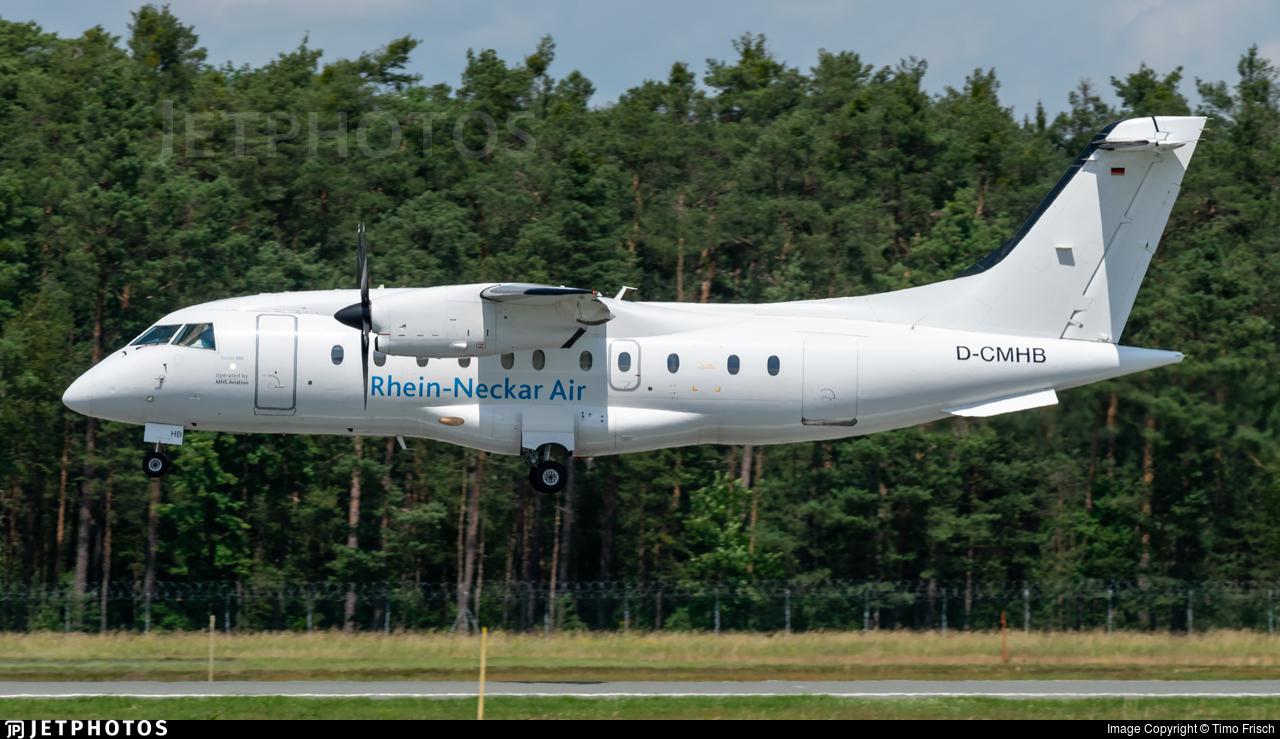 D-CMHB - Dornier Do-328-110 - Rhein-Neckar Air (MHS Aviation)
