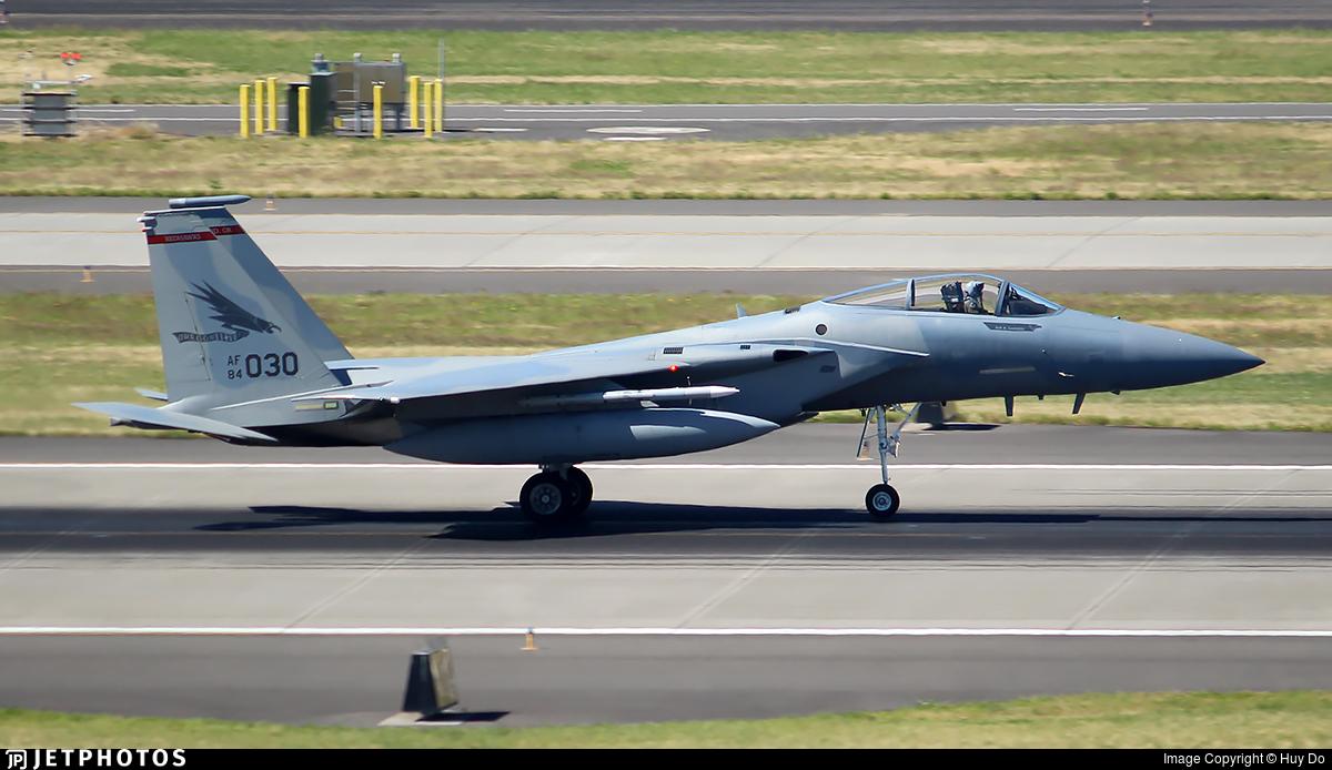84-0030 - McDonnell Douglas F-15C Eagle - United States - US Air Force (USAF)