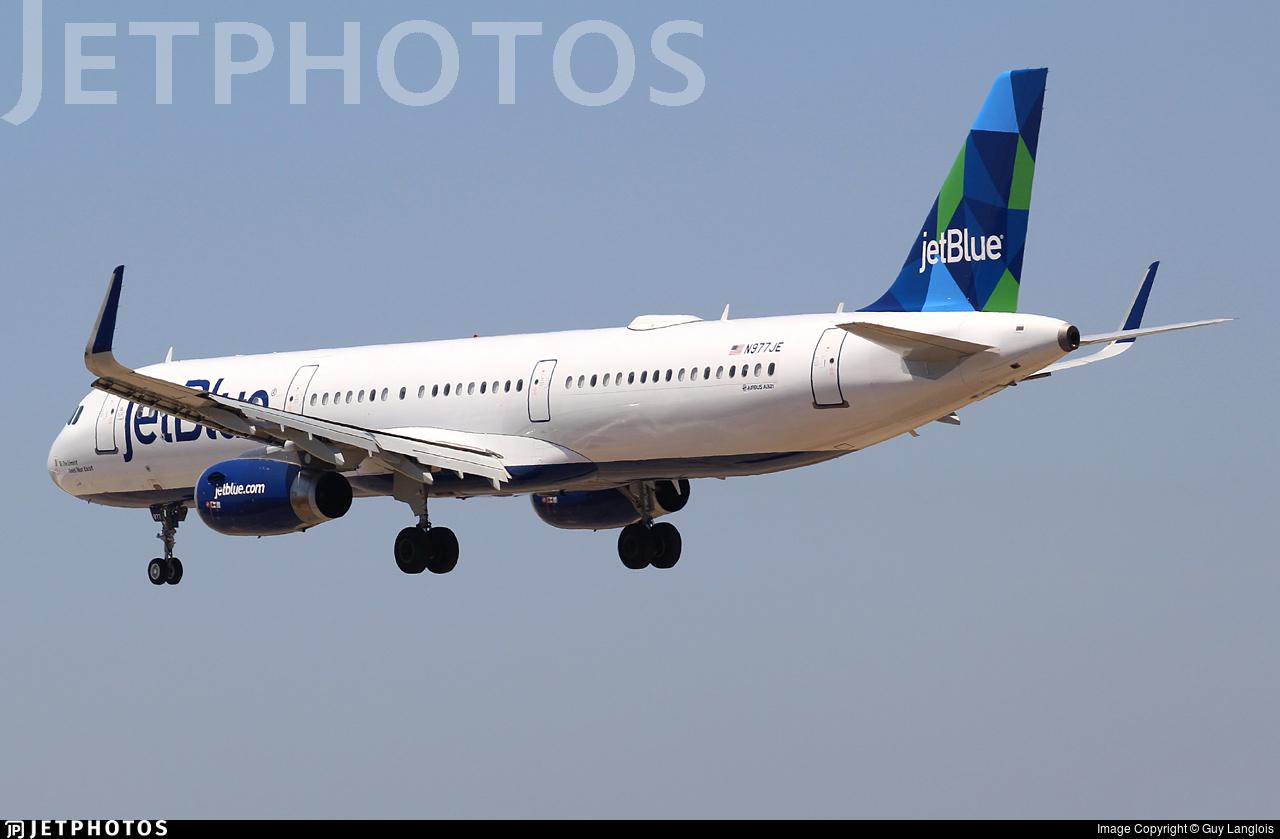 N977JE - Airbus A321-231 - jetBlue Airways