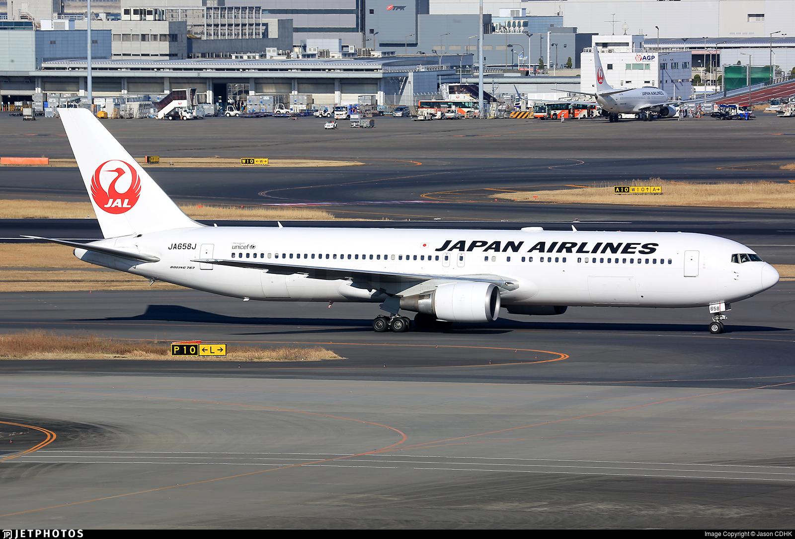 JA658J - Boeing 767-346(ER) - Japan Airlines (JAL)