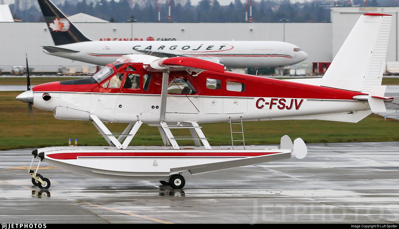 C-FSJV - De Havilland Canada DHC-2 Mk.III Turbo-Beaver - Private