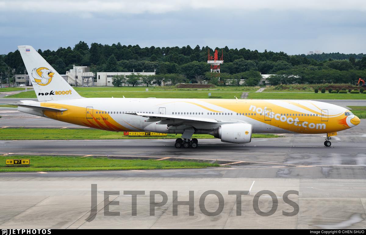 HS-XBC - Boeing 777-212(ER) - NokScoot