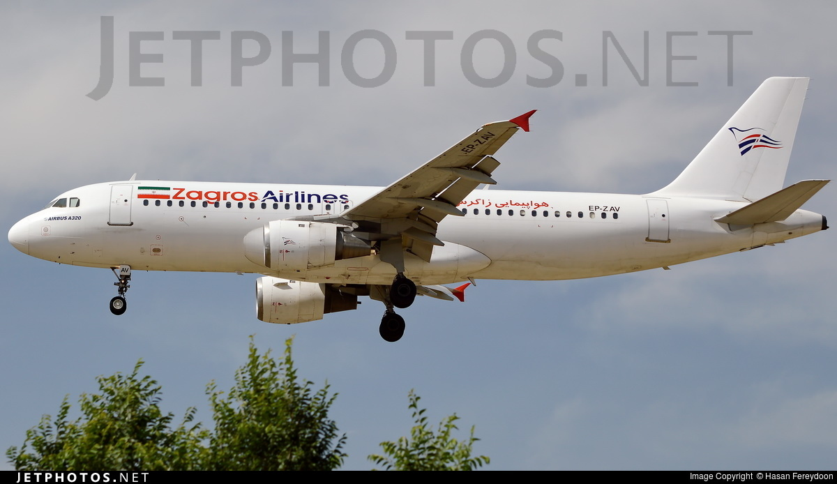 EP-ZAV - Airbus A320-211 - Zagros Airlines