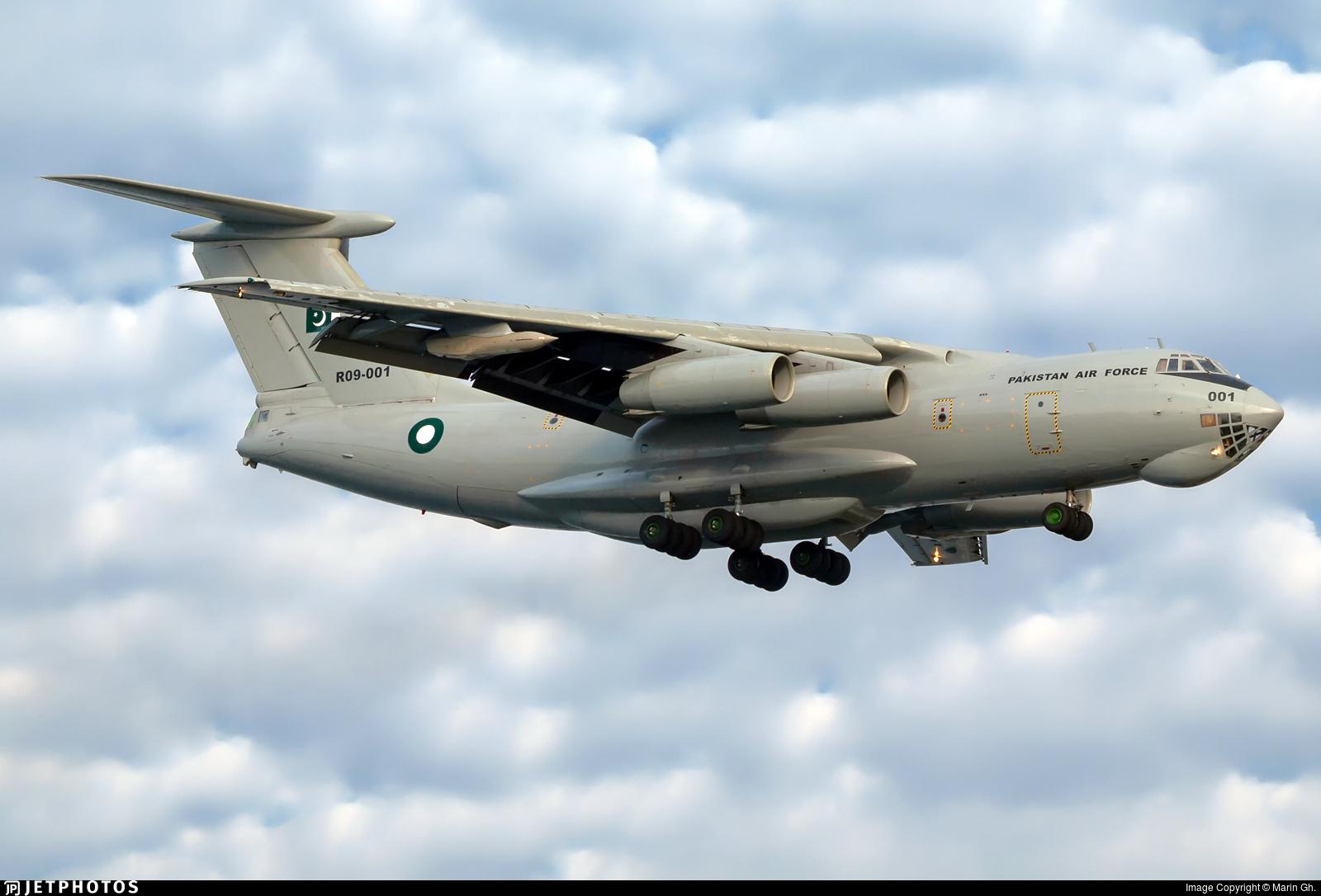 R09-001 - Ilyushin IL-78M Midas - Pakistan - Air Force