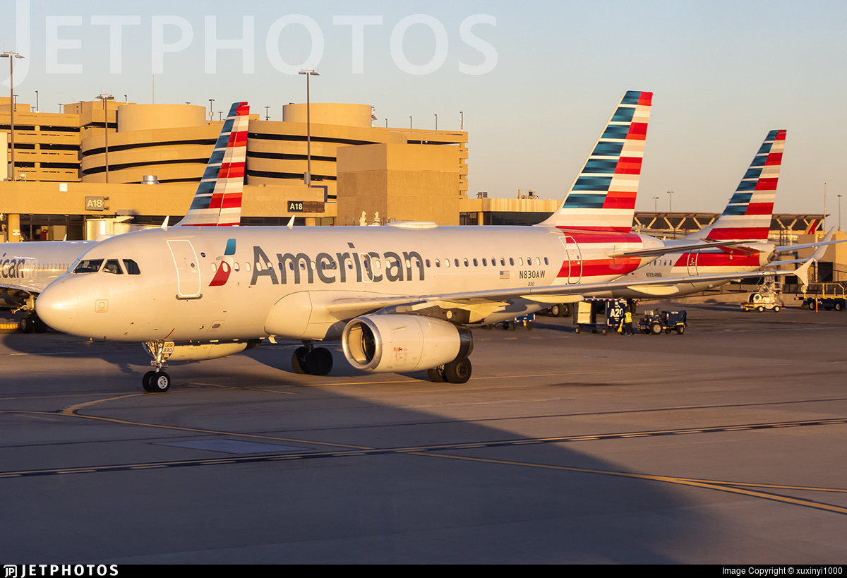N830AW - Airbus A319-132 - American Airlines