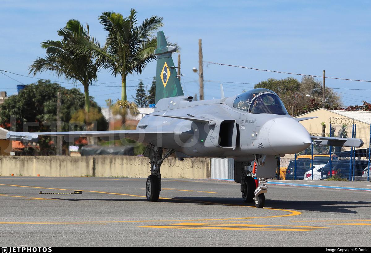 FAB4100 - Saab F-39E Gripen - Brazil - Air Force