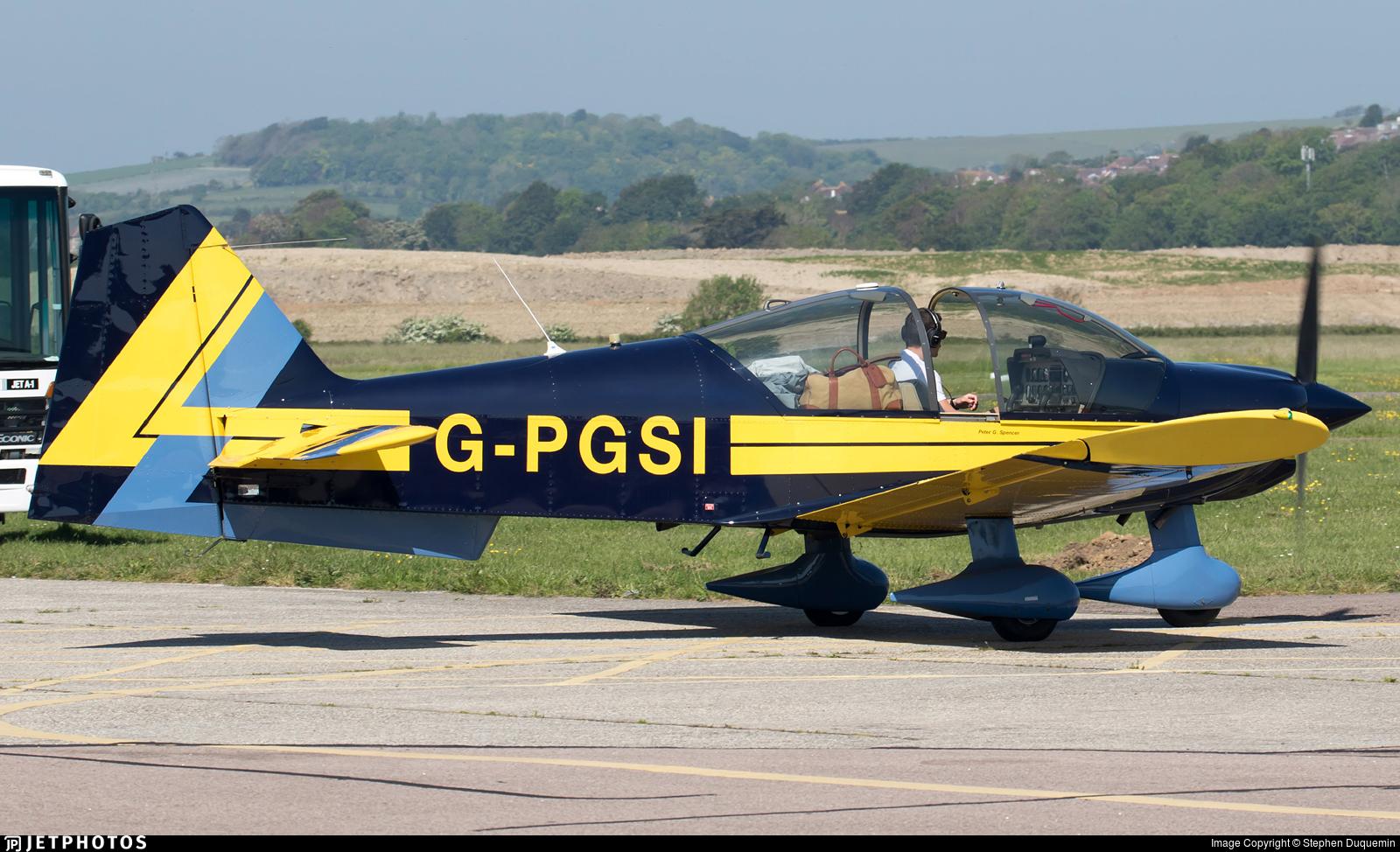 G-PGSI - Robin R2160 Alpha - Private