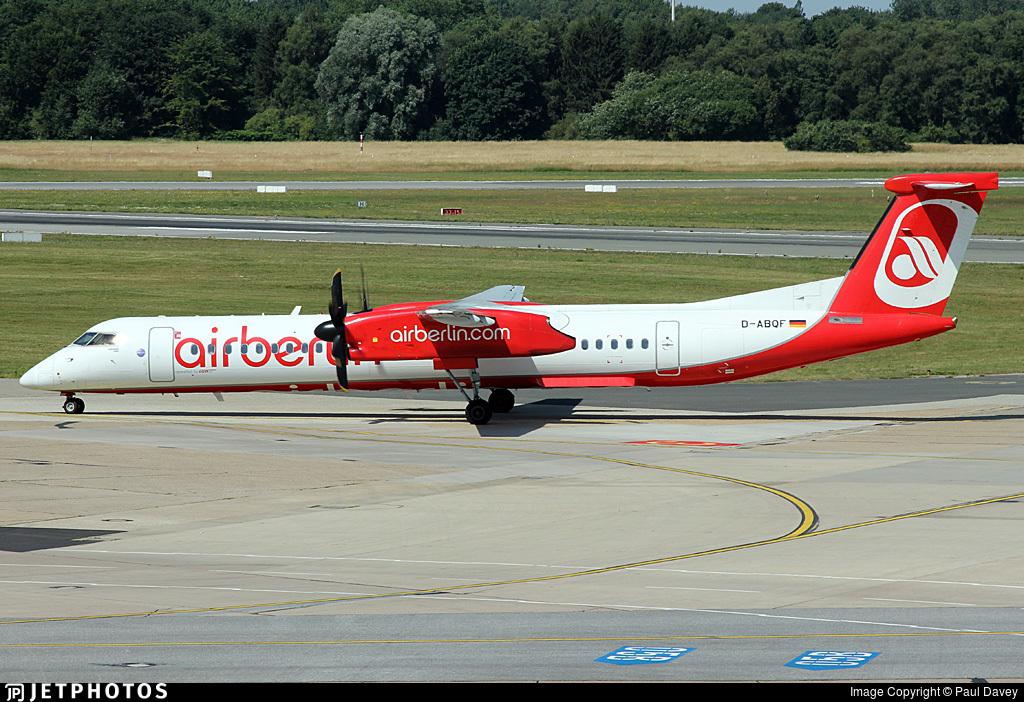 D-ABQF - Bombardier Dash 8-Q402 - Air Berlin (LGW Luftfahrtgesellschaft Walter)