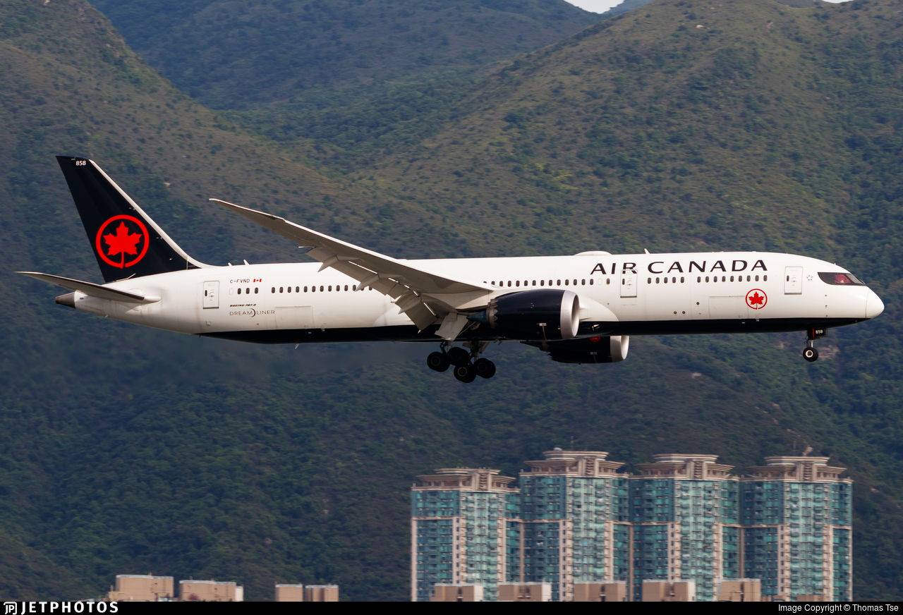 C-FVND - Boeing 787-9 Dreamliner - Air Canada