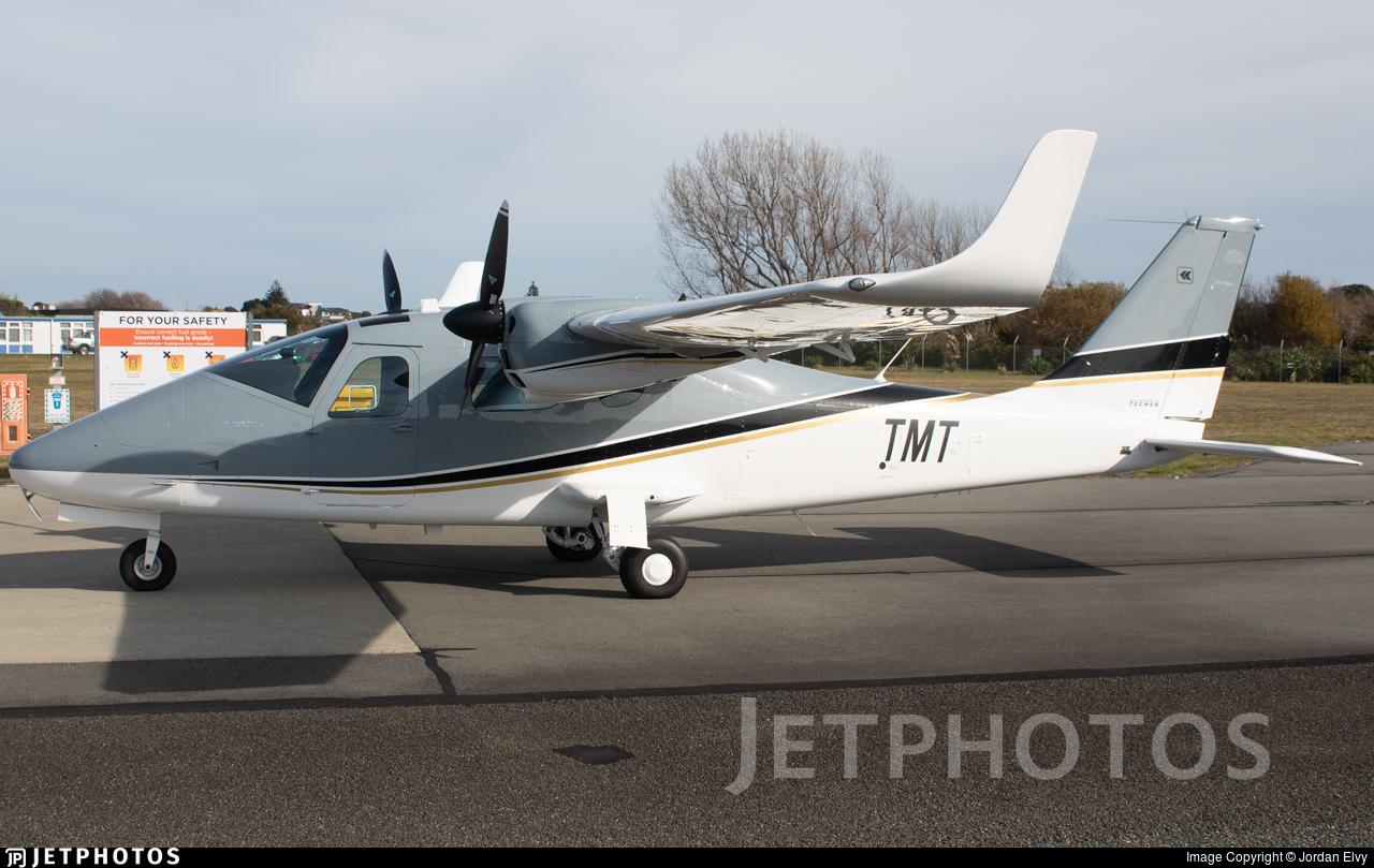 ZK-TMT - Tecnam P2006T Mk II - New Zealand Airline Academy