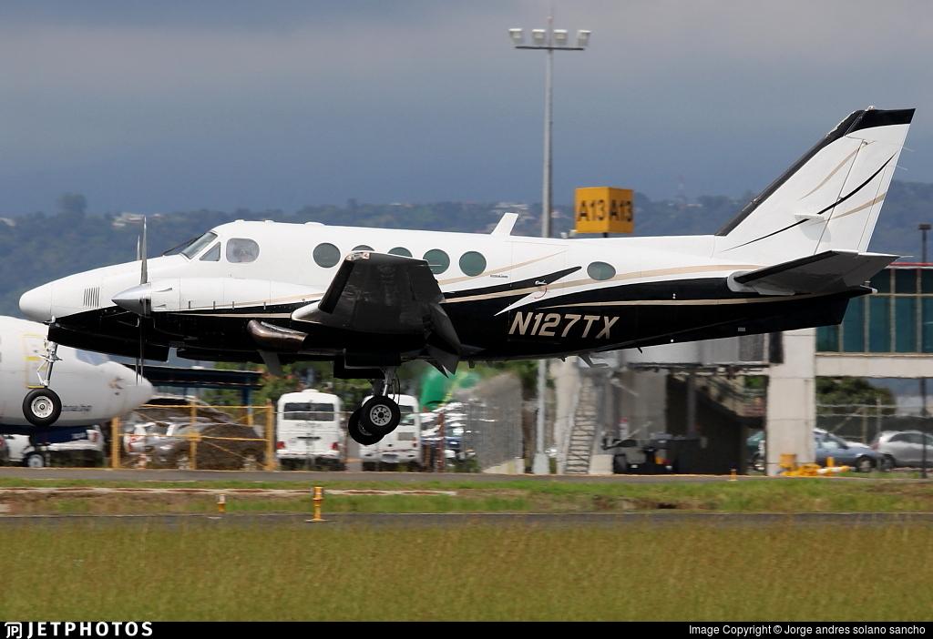 N127TX - Beechcraft 100 King Air - Private