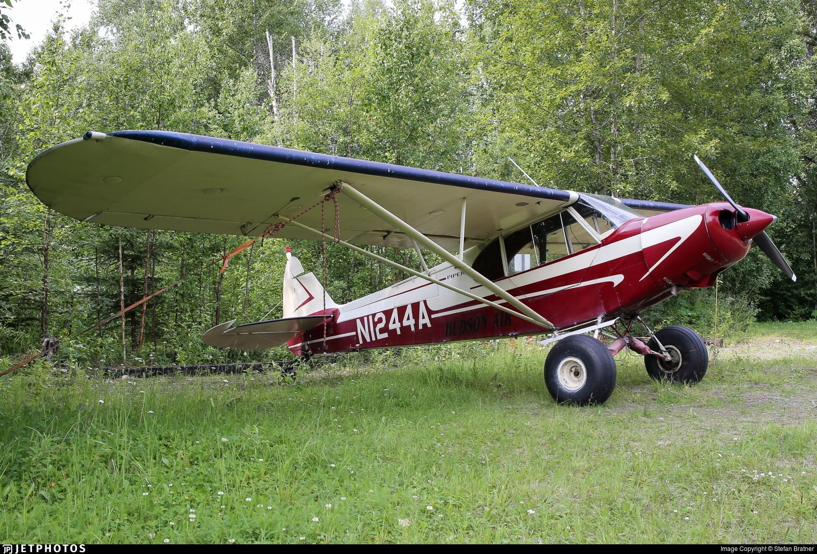 N1244A - Piper PA-18 Super Cub - Private
