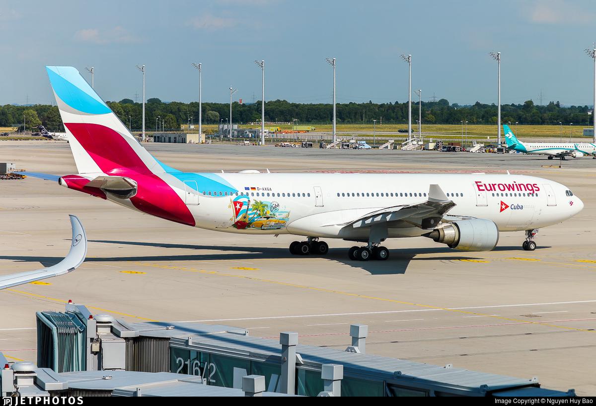 D-AXGA - Airbus A330-203 - Eurowings (SunExpress Germany)
