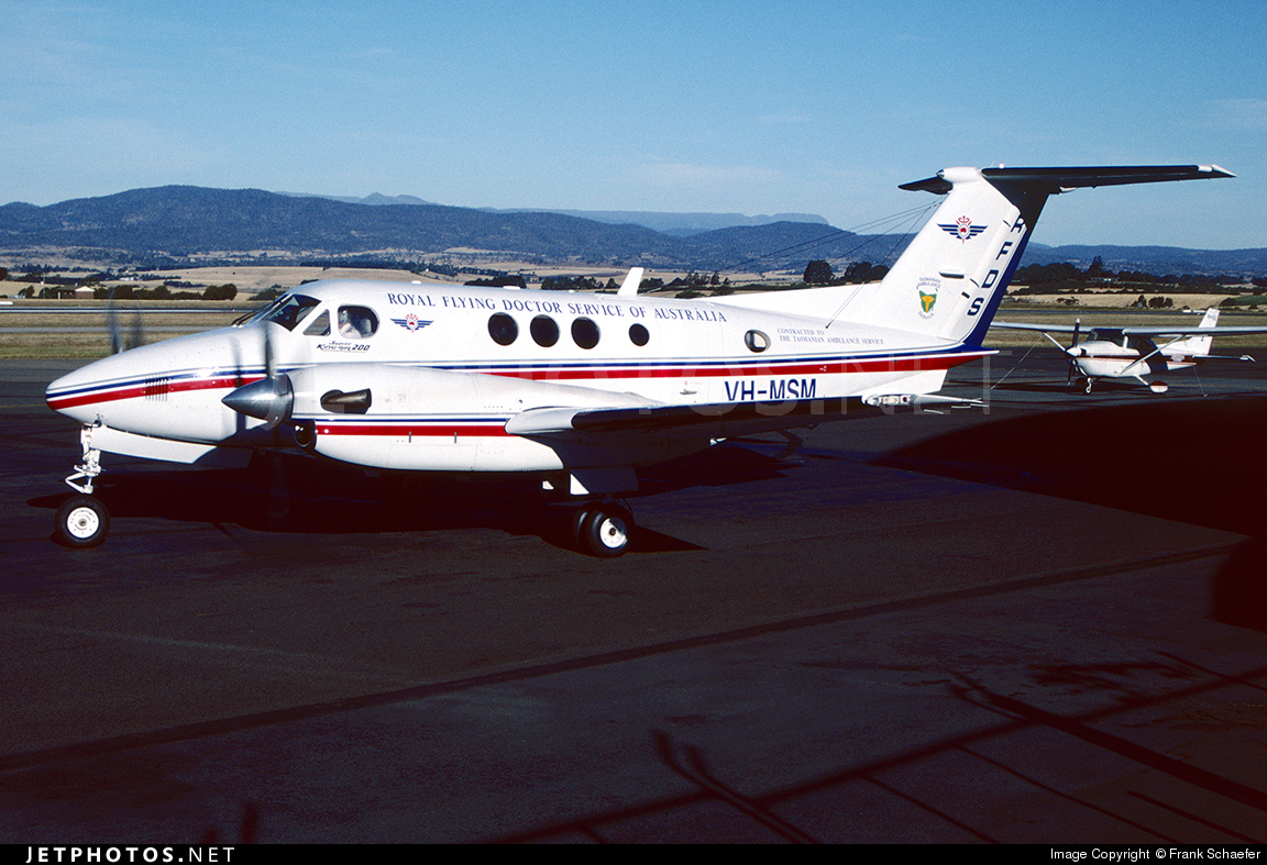 VH-MSM - Beechcraft B200 Super King Air - Royal Flying Doctor Service of Australia (SE Section)