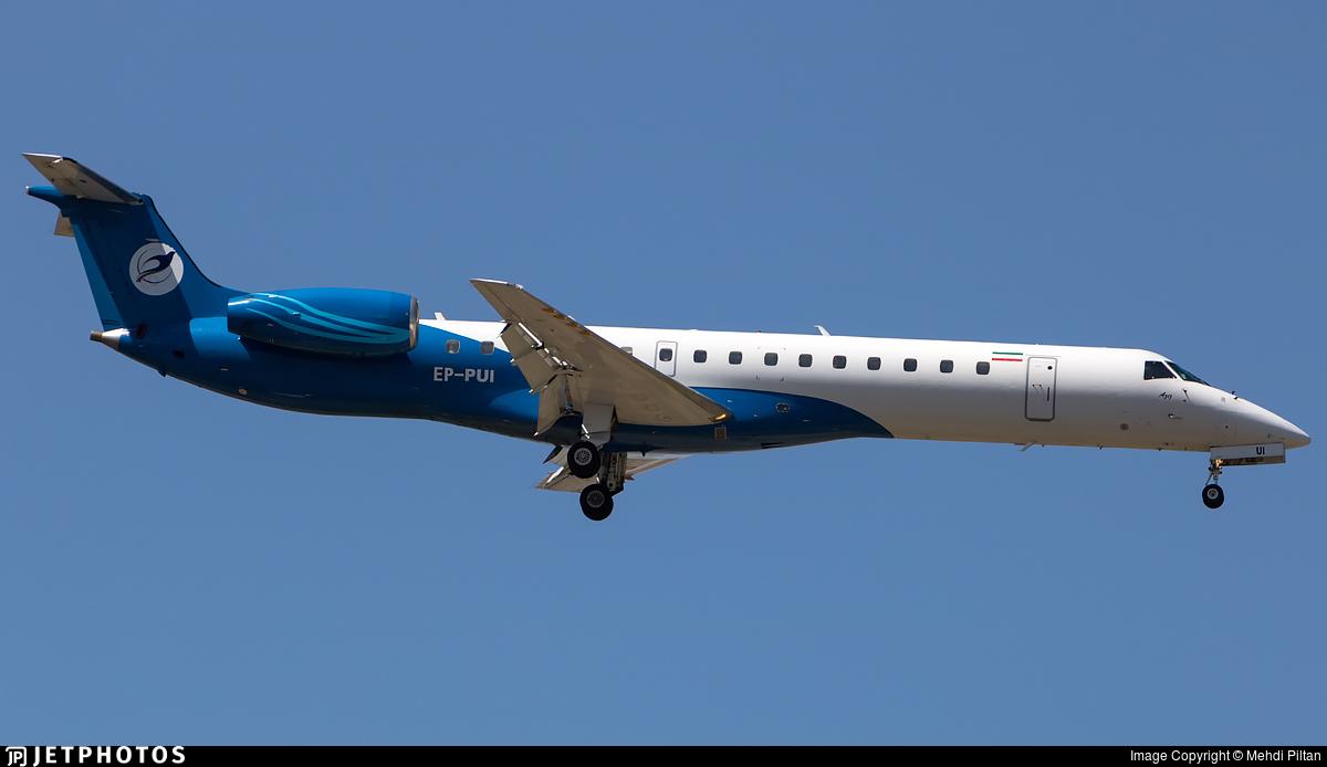 EP-PUI - Embraer ERJ-145EP - Pouya Air