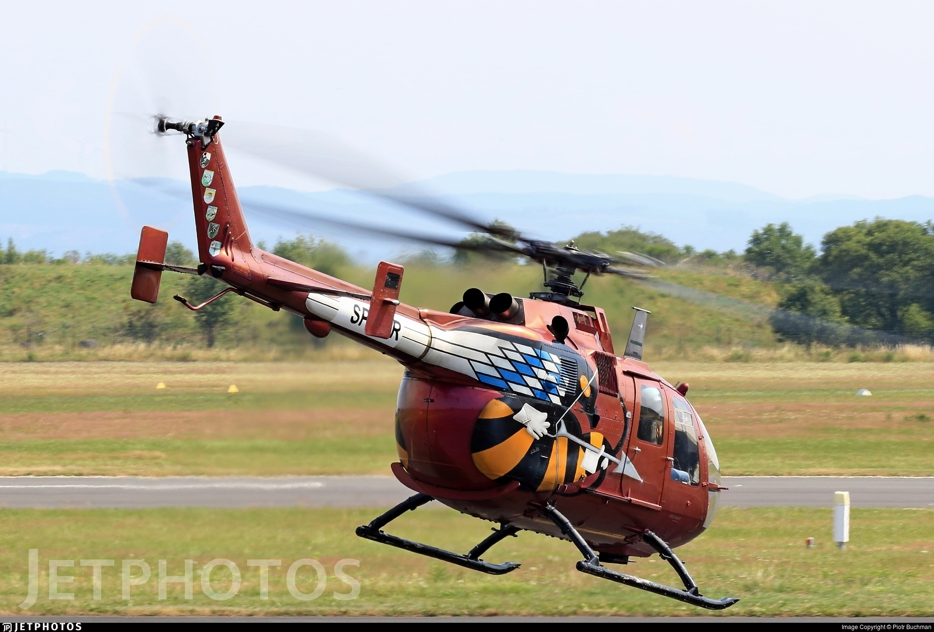 SP-YXR - MBB Bo105P1 - Private