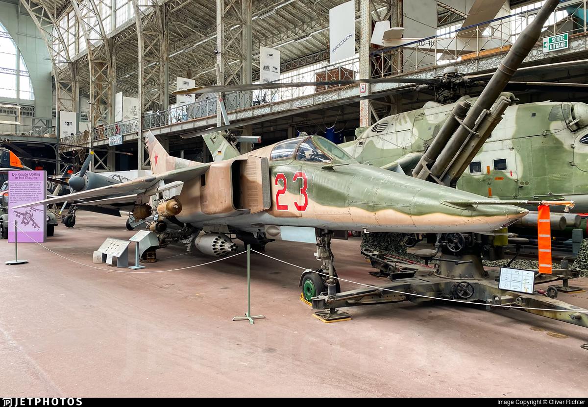 23 - Mikoyan-Gurevich MiG-23BN Flogger H - Russia - Air Force