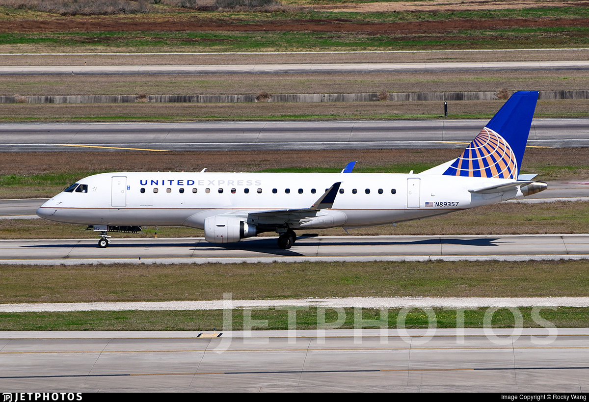 N89357 - Embraer 170-200LR - United Express (Mesa Airlines)