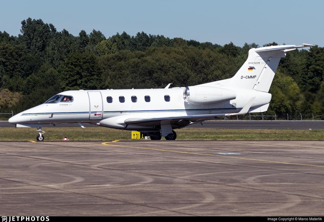 D-CMMP - Embraer 505 Phenom 300 - Luxaviation